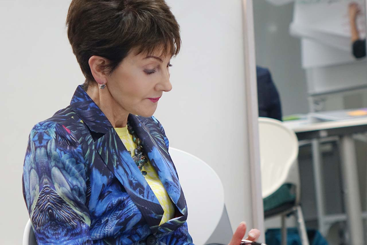 London Image Institute Founder Lynne Marks training ImageAsia Programme
