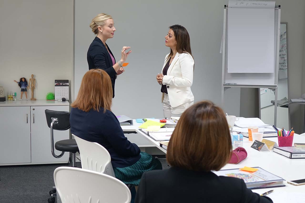 Image Consultant course on communication presentation body language with Lynne Marks 3
