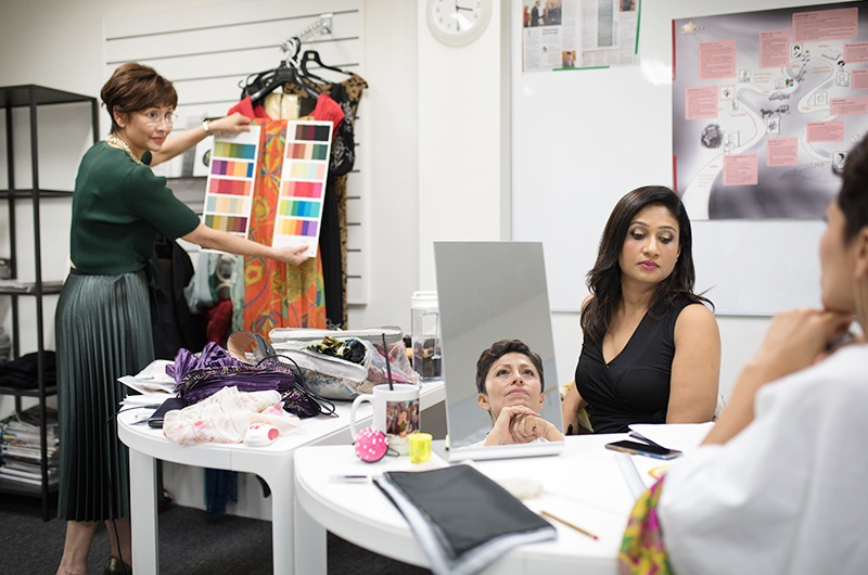Image Consultant Training on Colour, Bodyline, Wardrobe with Christina Ong - private consultation