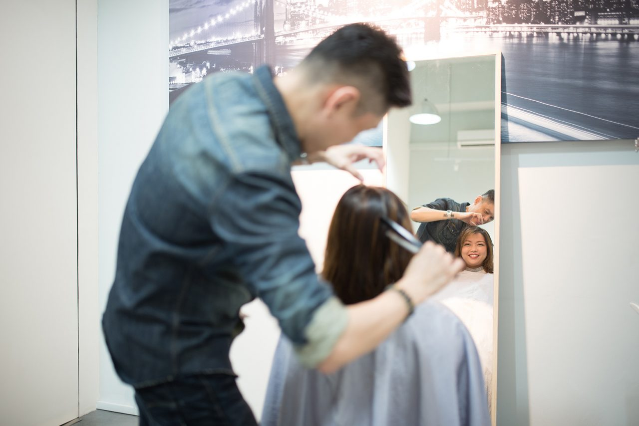 Image Consultant course on Colour, Bodyline, Wardrobe with Christina Ong - hairstyle